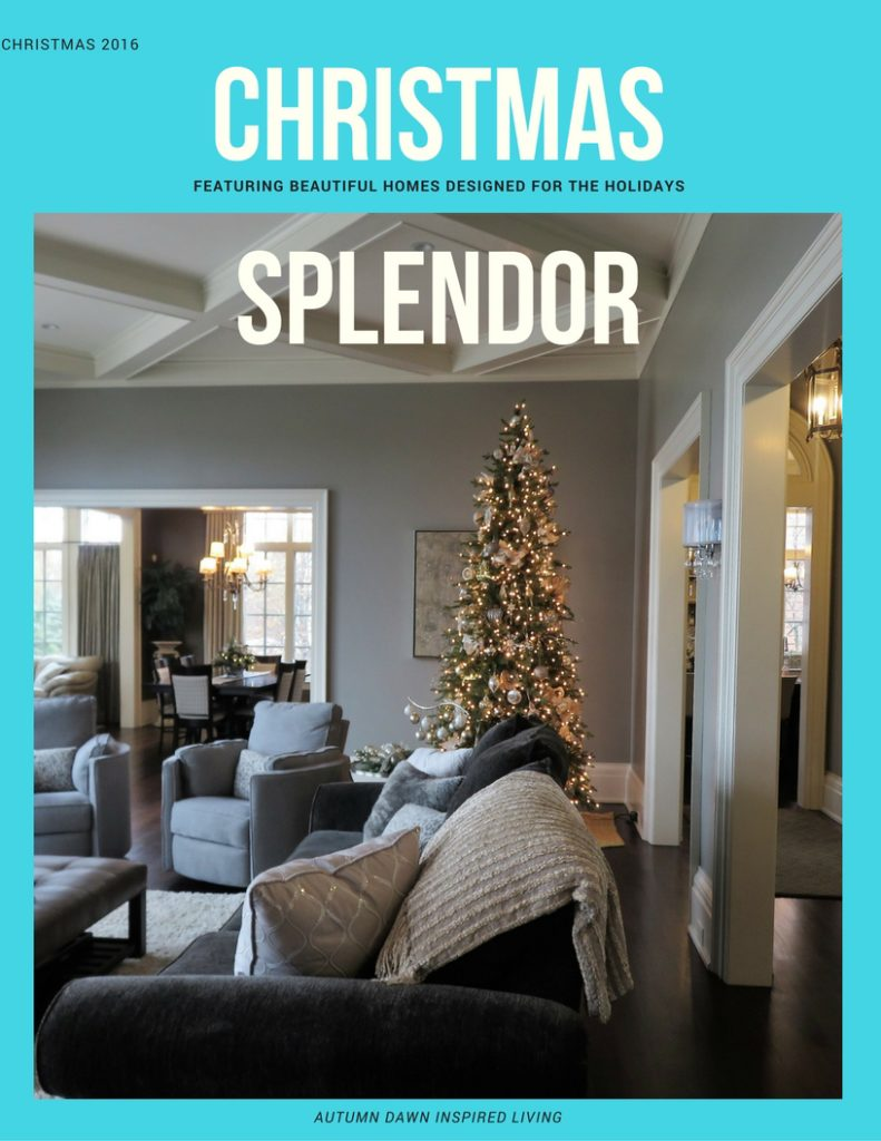 Christmas Home Tour Splendor