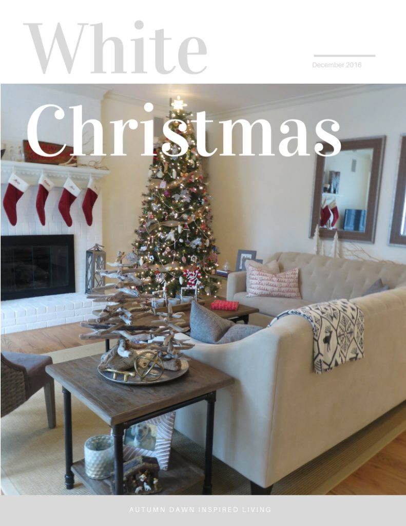 White Christmas Home Tour Splendor 2