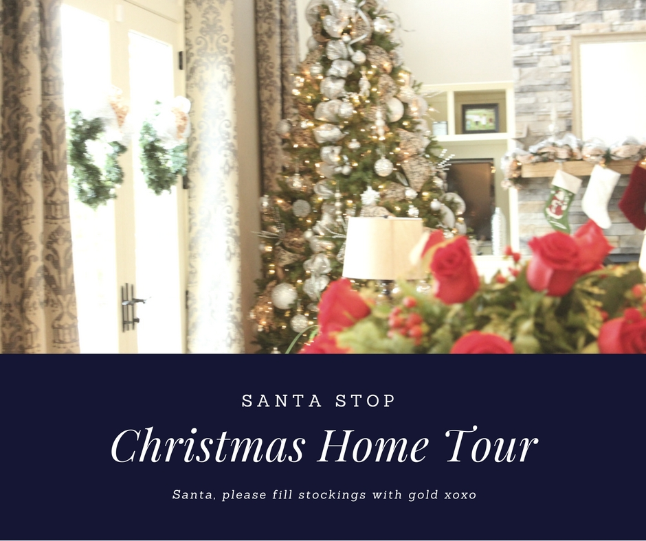 Santa Stop Christmas Home Tour